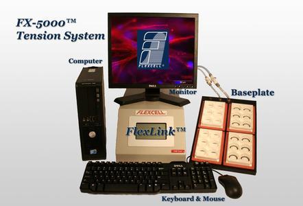 液压颅脑损伤仪(FPI)、电子颅脑损伤仪(eCCI)、细胞损伤控制仪(CIC II)配套使用的FX-5000T维细胞组织应力加载系统